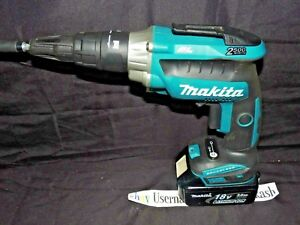 18v Lxt Brushless 2 500 Rpm Screwdriver Makita Xsf05 Bl1830 Battery