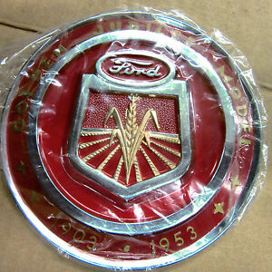 New Golden Jubilee Ford Naa Hood Emblem Nice