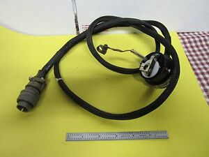 Nikon Microscope Cable Hbo Lamp Holder As Is Bin h9 16