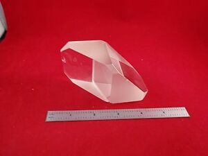 Optical Large Prism some Edge Chips Laser Optics As Is Bin q7 c 03
