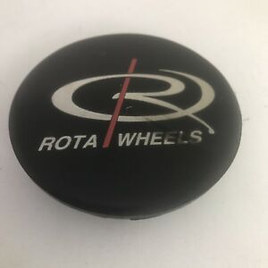 1 Rota Wheels Black Center Cap Hubcap 2 1 2