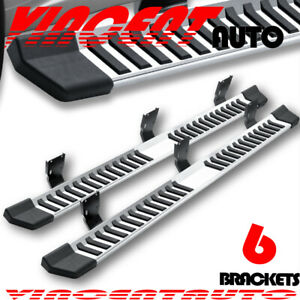For 99 16 Ford F250 Superduty Crew Cab 6 Running Board Side Step Nerf Bar S S V