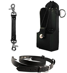 Boston Leather Firefighter Bundle Anti sway Strap For Radio Strap Radio Strap