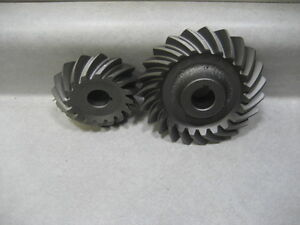 John Deere Tractor Model H Set Of Fan Drive Gears Repro Pn ah710r