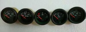 24 V Jeep 52mm Electrical Gauges Kit Oil Pressure Temp Volt Fuel Gauge