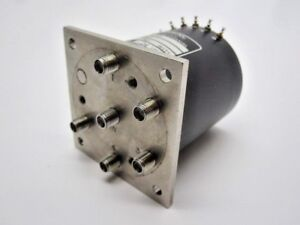 Loral Rf Coaxial Switch 052 b137 a1c 4a2 24 Vdc