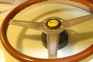 15 Ferrari Vintage Momo Steering Wheel Dino Other Complete With Horn Button