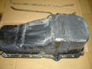 350 Chevrolet Gmc 5 7 Engine Oil Pan For 1 Peice Rear Main Seal Gm 10128320