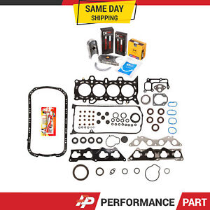 Full Gasket Set Bearings Rings For 01 05 Honda Civic 1 7 D17a2 D17a6