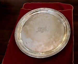 Russian Large 1 1 Kg Silver Tray Faberge