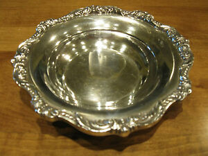 Vintage Epca Old English By Poole Candy Bowl 5004 6 1 4 Diameter