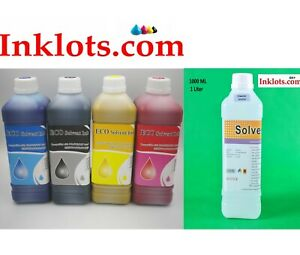 4l Eco Solvent Ink Free Cleaner Solution Roland Mutoh Mimaki Epson Dx7 Dx5