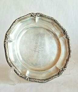 Antique Tiffany Co Sterling Silver Platter Tray Plate