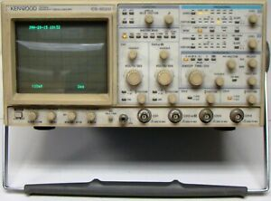 Kenwood Cs 6020 4 Channel 150 Mhz Readout Oscilloscope