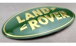 Land Rover Lr3 Sport Range Rover Discovery Front Grille Emblm Green Oval Badge