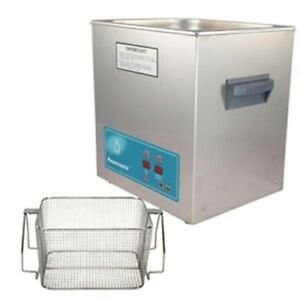 Crest P1100h 45 Ultrasonic Cleaner heat Timer mesh Basket
