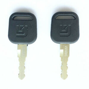 2 Liugong Excavator And Heavy Equipment Ignition Keys 34b0557