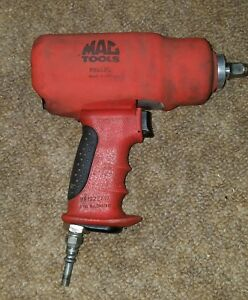 Mac Tools Aw612q 1 2 Drive Impact Wrench Red With Boot Cover