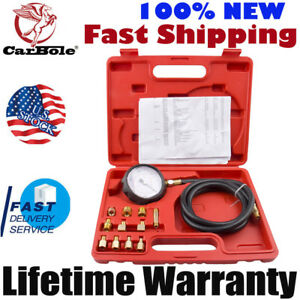 500pis Auto Transmission Oil Pressure Tester Gauge Engine Diagnostic Test Kit Us