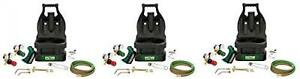 Victor Portable Tote Torch Kit Brazing Soldering Without Bottles Oxy acetylene