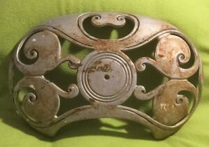 Antique Stove Part Top Cover Palace Peninsular Cast Iron