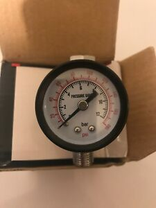 Hvlp Spray Gun Air Regulator Pressure Gauge Auto Paint