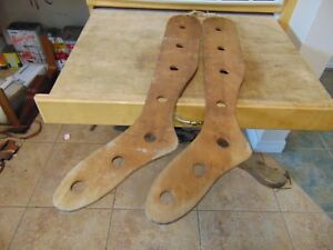 Vintage Antique Wooden Stocking Stretchers Nice 6213