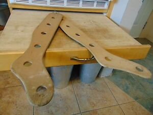Vintage Antique Wooden Stocking Stretchers Nice 1608