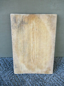 Vintage Bread Cutting Board Primitive Country 12 X 8 1 4 Wood