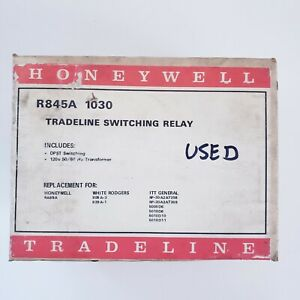 Honeywell R845a 1030 Switching Relay 120v 50 60hz 24 Volt Transformer