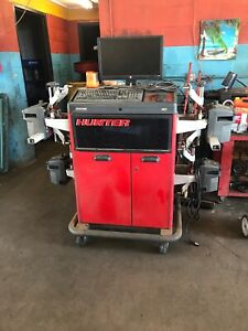 Used Hunter Alignment Machine R611
