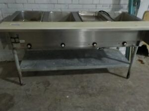 Eagle Group 4 well Electric Steam Table Nsf