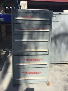 Nu era Modular Storage Systems 6 Drawer Tooling Cabinet