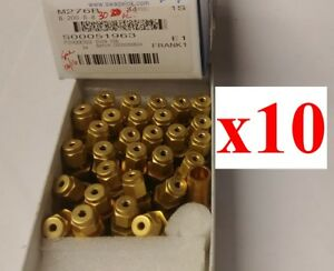 lot Of 10 New Swagelok B 200 r 8 Tube Fitting Reducer 1 8 In X 1 2 In