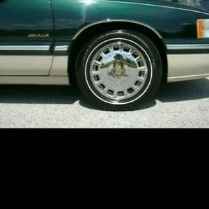 4 225 60r 16 Inch White Wall Tires 70 Ww Band Cadillac Deville Thin New