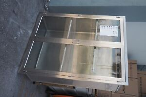 Stainless Steel Or Clearview Storage Cabinet Inwall