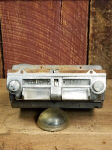 1946 1947 Ford Super Deluxe Radio Adjust O Matic Am Radio Zenith 6mf080