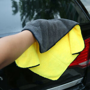 Microfiber Cleaning Cloth Soft Car Set Towel Auto Drying Care 15 X18 3pcs New