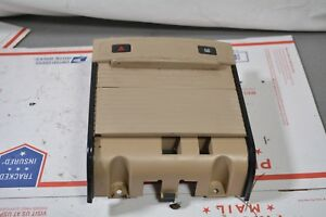 05 07 Cadillac Sts Center Console Cup Holder Beige Oem Genuine A4