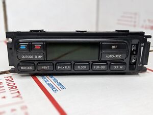 1997 1998 1999 2000 2001 2002 Ford Expedition Digital Climate Control Ac Heater