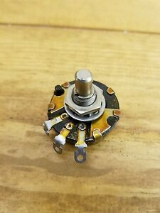 Vintage Potentiometer Frank Rieber Carbon Switch Audio Power Snap 1meg