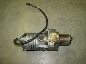 Milwaukee Gamag Electromagnetic Heavy Duty Drill Head For Parts Or Repair