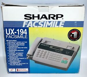 Sharp Fax Machine Ux 194 Thermal Open Box Ships Free