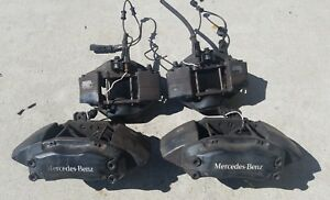 00 03 Mercedes Benz W163 Ml55 Amg Oem Brembo Front Rear Brake Caliper Set Of 4