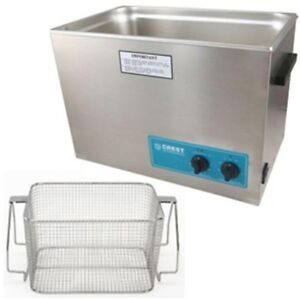 Ultrasonic Cleaner heat Timer mesh Basket Crest P1800h 45