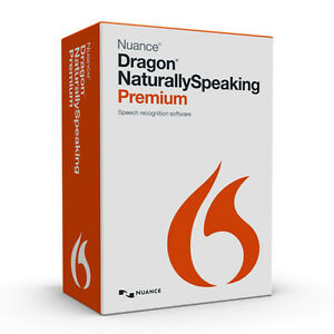 Dragon Naturally Speaking 13 Premium Edition Speech to text Software