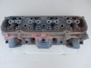 1 4x 7h Pontiac Cylinder Head 98cc 400 455 Firebird V8 Engine 1973 1974 Oem Gm