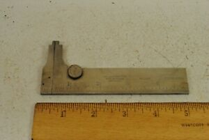 Starrett No 1025 4 Pocket Slide Caliper
