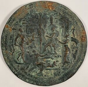17th Century Bronze Plaque Judgement Of King Solomon C 1500 1650