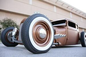 18 Tire 2 Wide White Wall Port A Wall Fits Ford Chevy Mopar Hot Rod Rat Rod